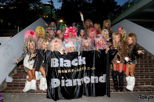 Japanese Kuro Gyaru - Black Diamond (23)