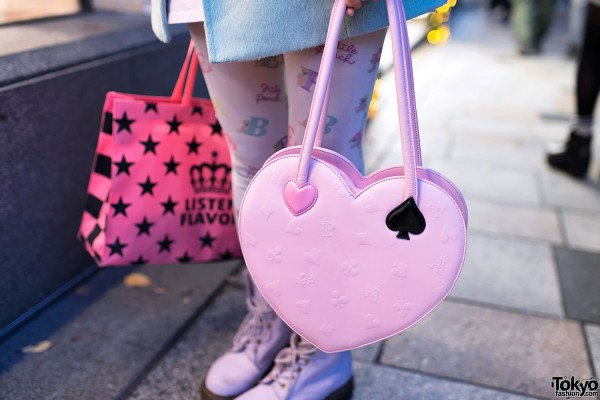 Angelic Pretty Pink Heart Handbag