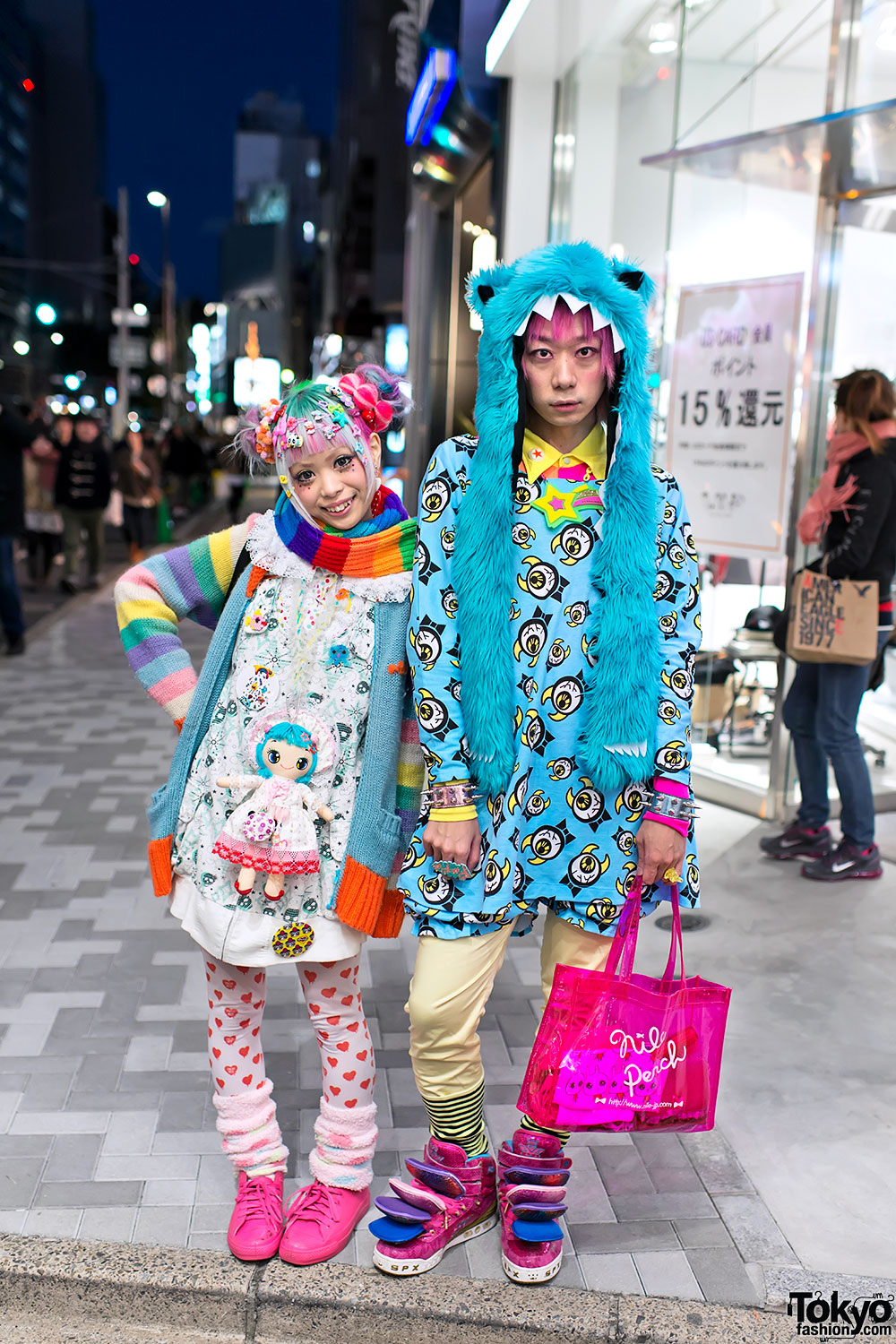 Kurebayashi Junnyan In Harajuku W Kawaii Monsters
