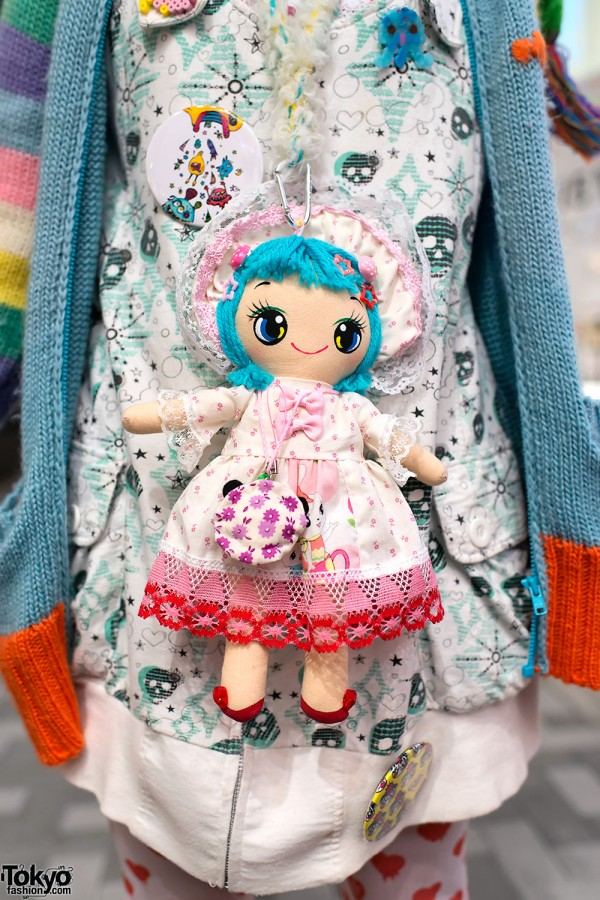 Cute Ragdoll With Decora Hairclips