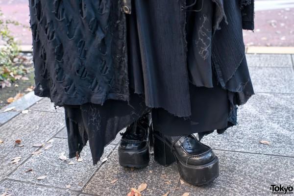 Yosuke Gothic Platform Boots