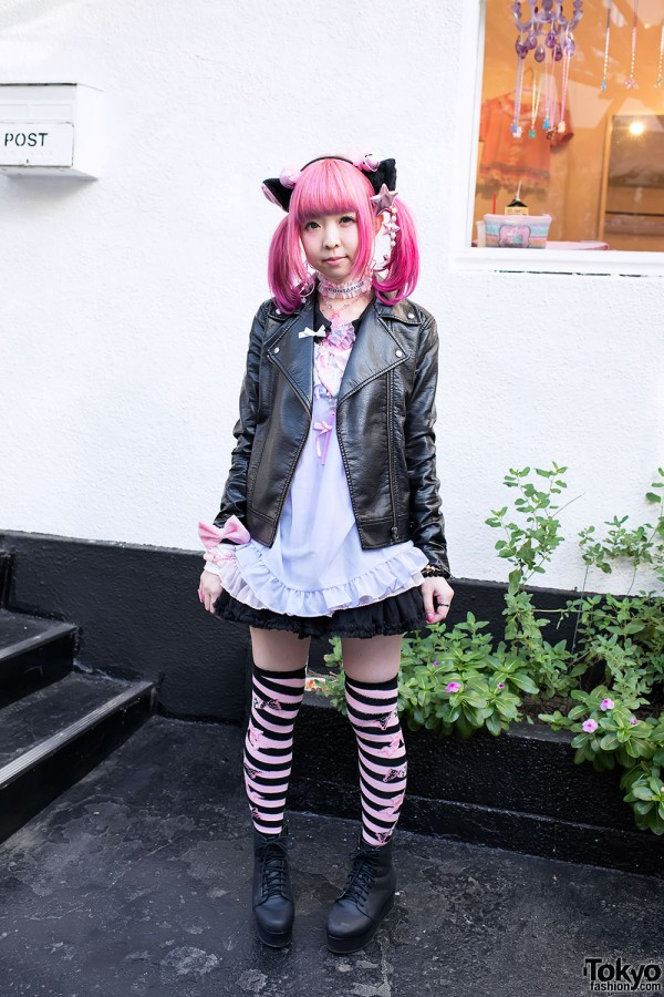 Moco's Cute Cat Ears, 6%DOKIDOKI & Strawberry Planet in Harajuku