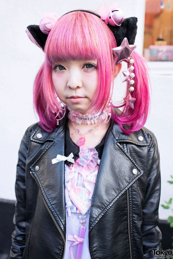Pink Hair & Nekomimi Cat Ears