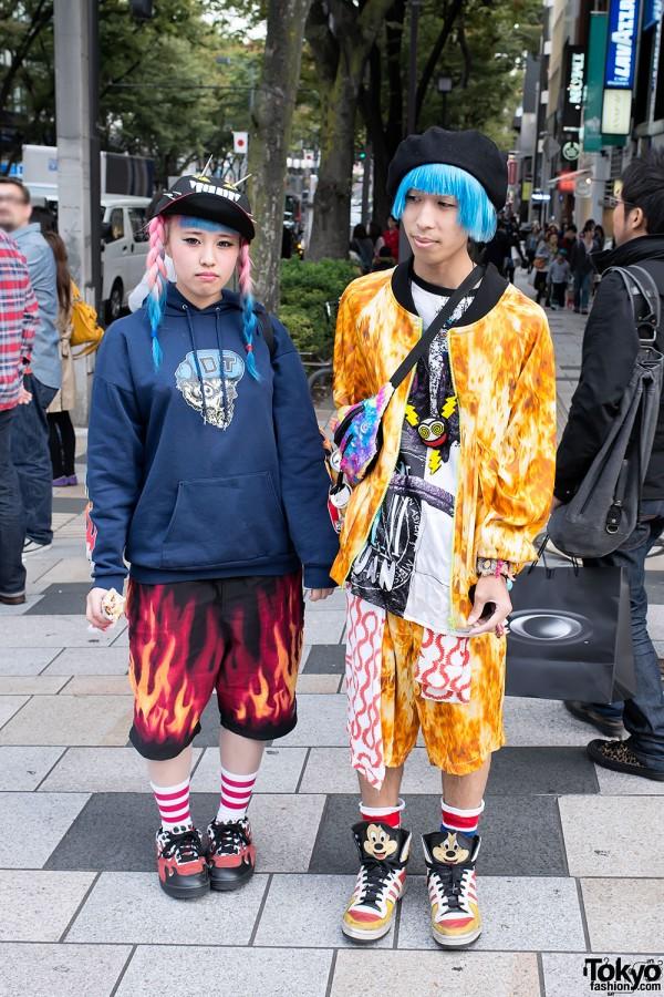 Anami & Shunpei in Harajuku