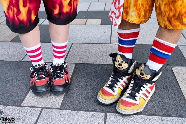 Jeremy Scott Mickey Mouse Sneakers