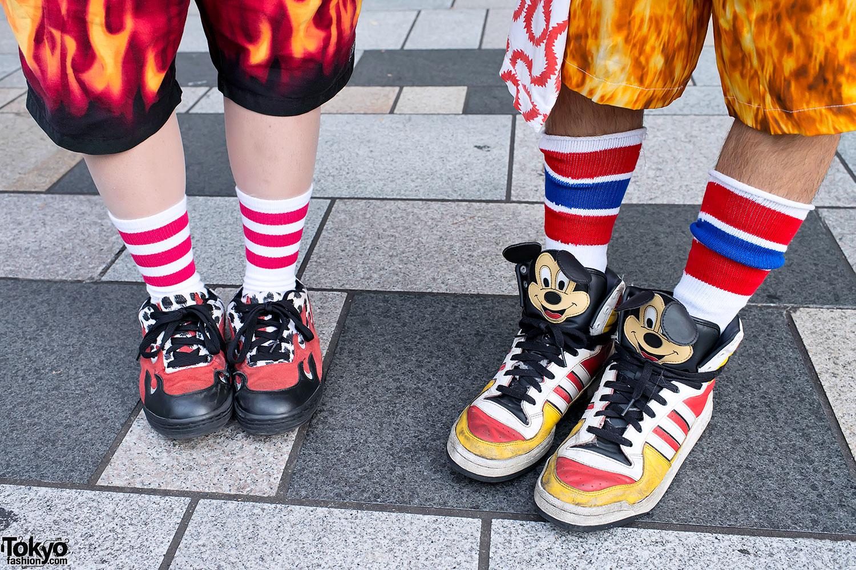 Jeremy Scott Mickey Mouse Shoes Cheap