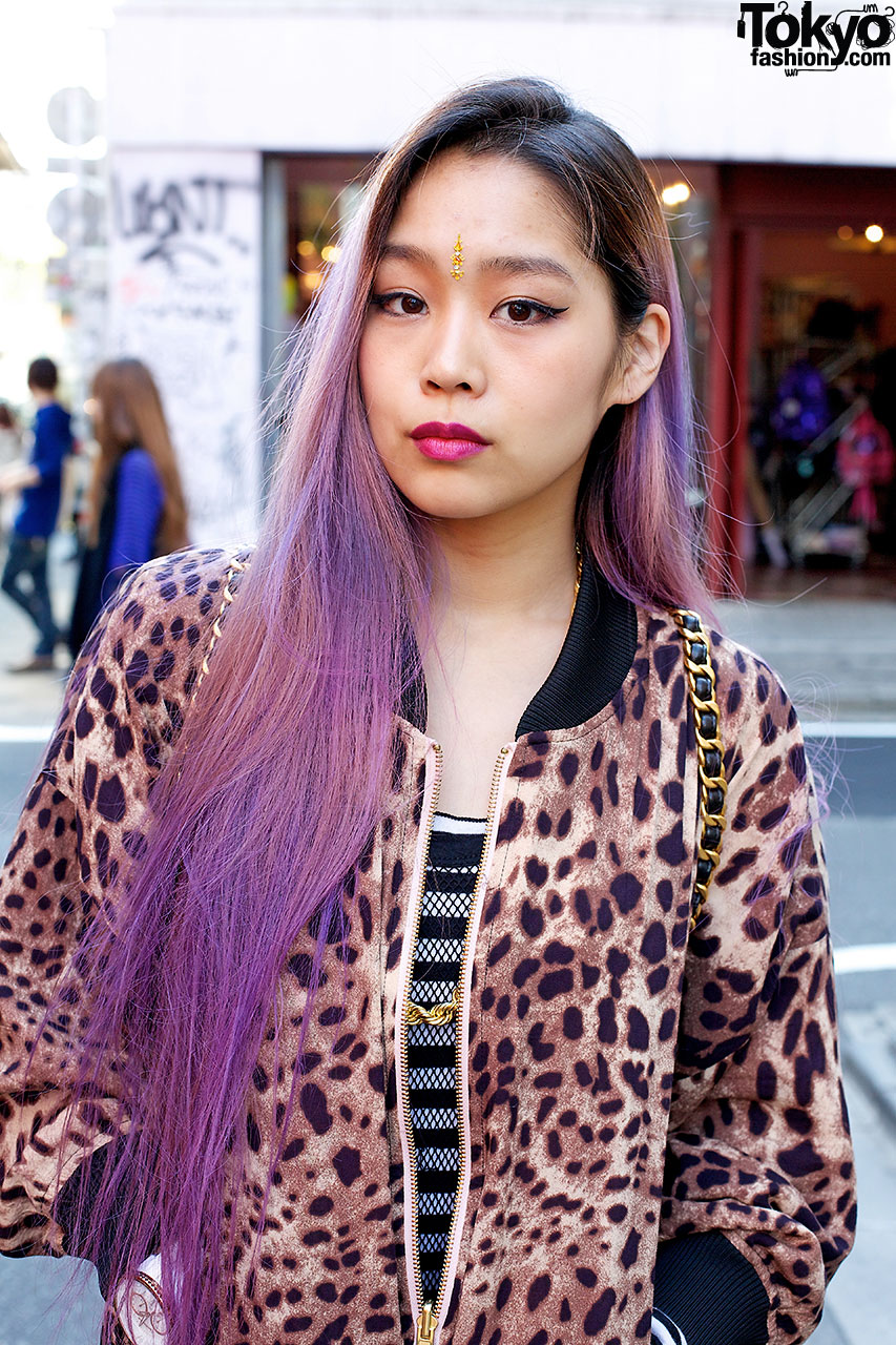 Red Purple Ombre Hair Purple hair