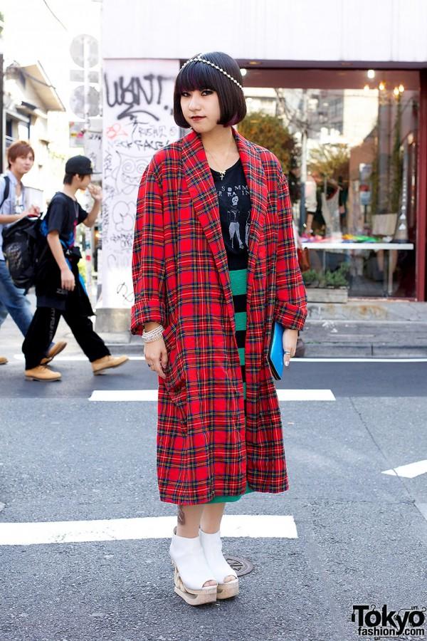 Bubbles Harajuku Coat & Skirt