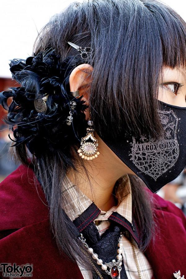 Gothic hair accessory