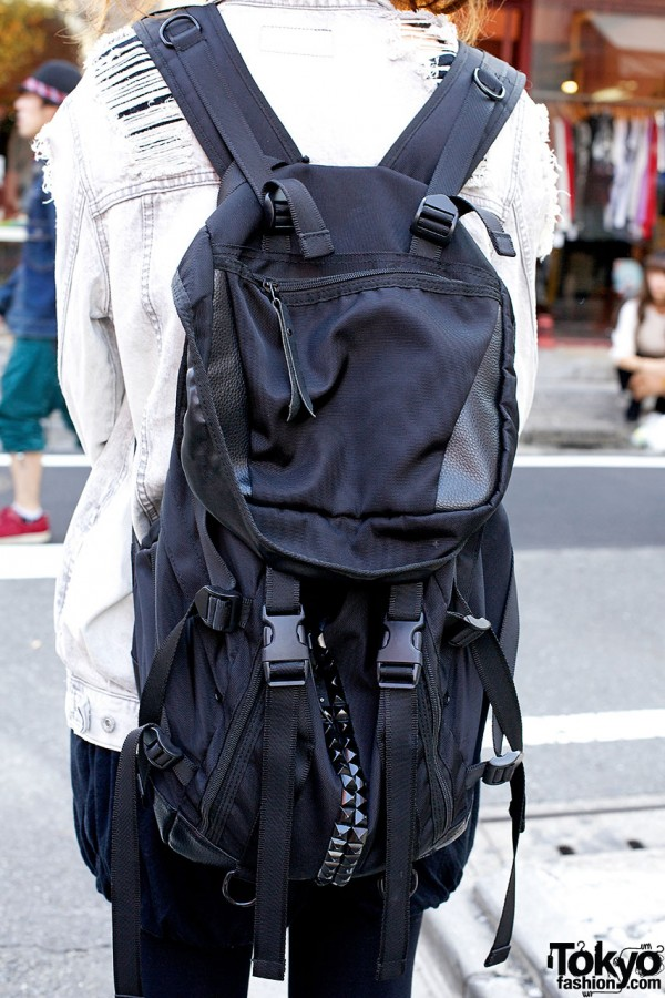 Studded Memento Backpack