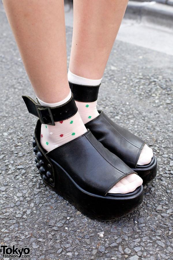Tokyo Bopper peep toes