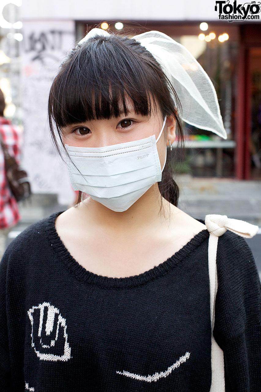 Face Mask Tokyo Fashion News