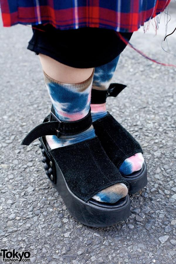Tokyo Bopper Studded Shoes