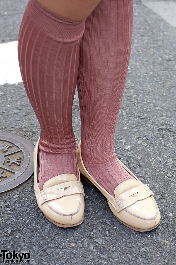 Vintage Loafers in Harajuku