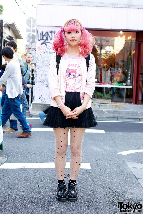 Cute Harajuku girl