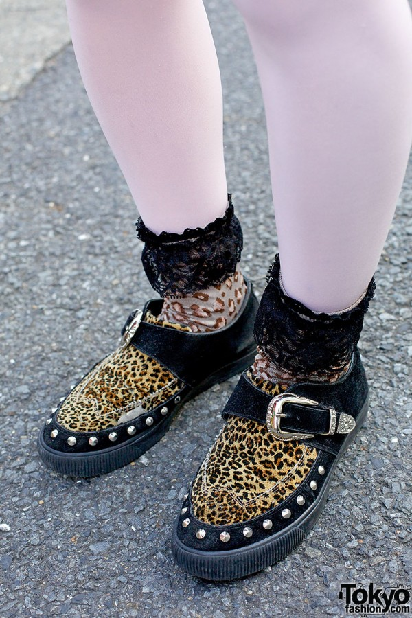 RNA animal print shoes