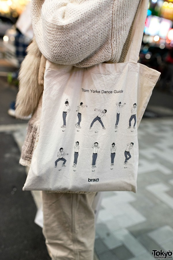 Thom Yorke Dance Guide Bag
