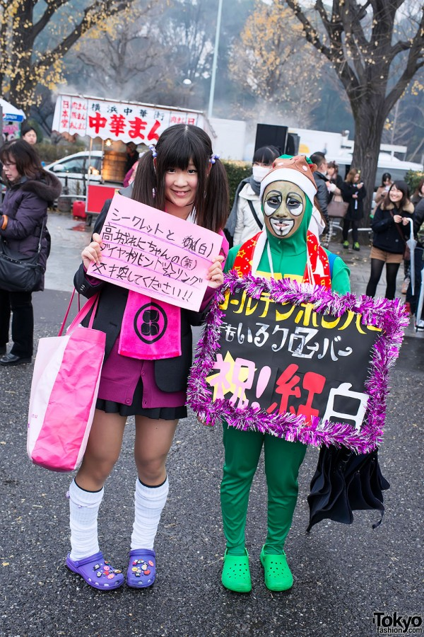 """""""All Live Nippon"""" Concert Fan Fashion Snaps in Harajuku"""