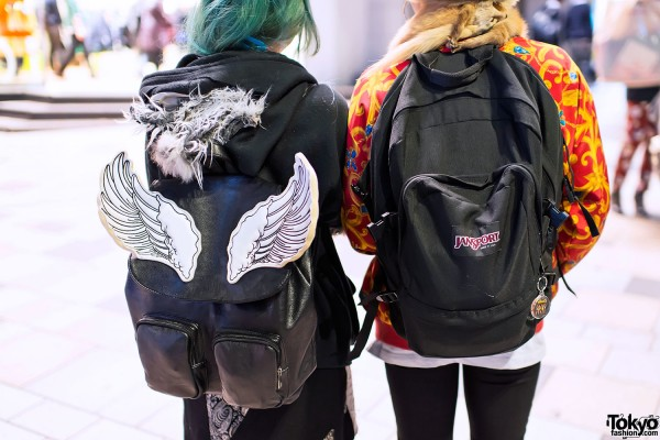 Glad News Winged Backpack in Harajuku