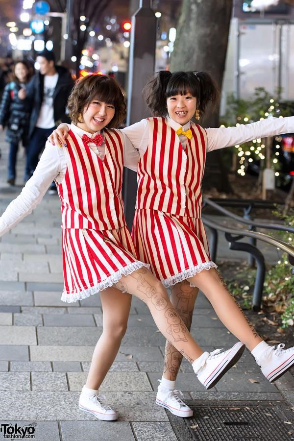 Cute Arashi Fans in Harajuku