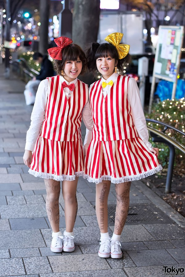 Japanese Pair Look Fashion
