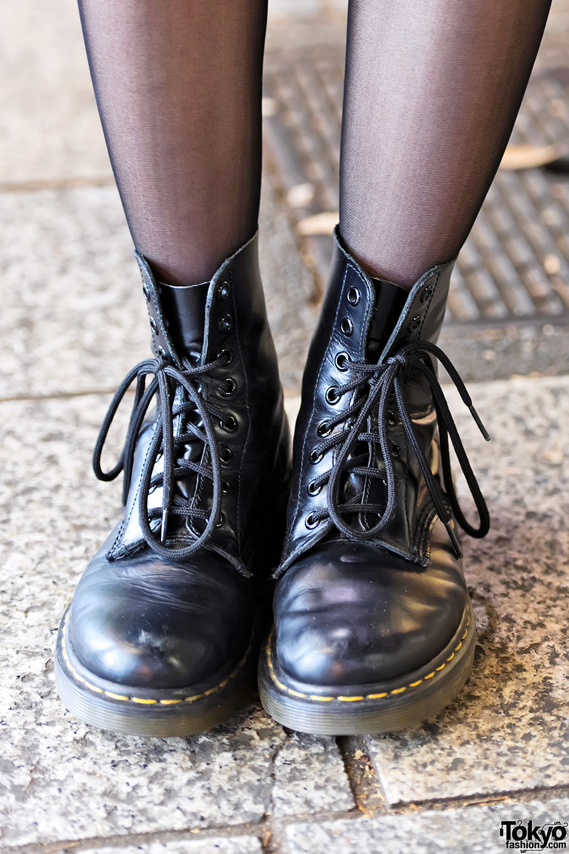 Dr Martens Boots Harajuku Tokyo Fashion News