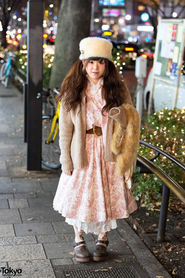Dolly Kei Fashion in Harajuku