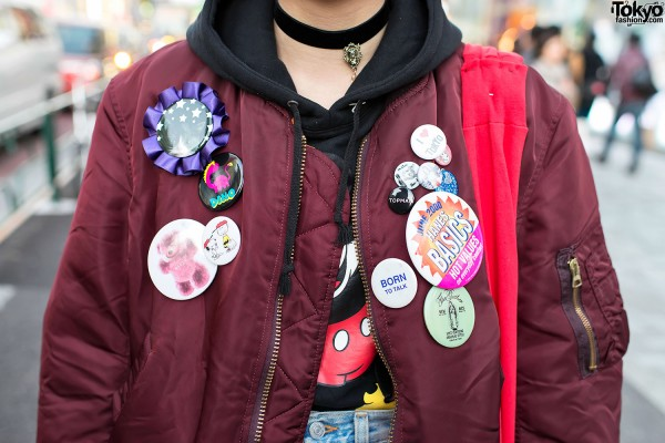 Born To Talk & Other Buttons