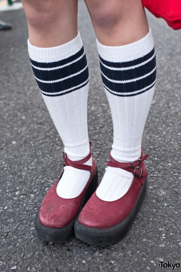 Striped Socks & Tokyo Bopper