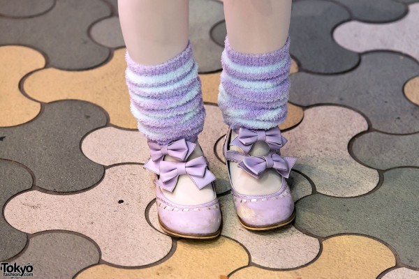 Leg Warmers & Lolita Shoes in Harajuku