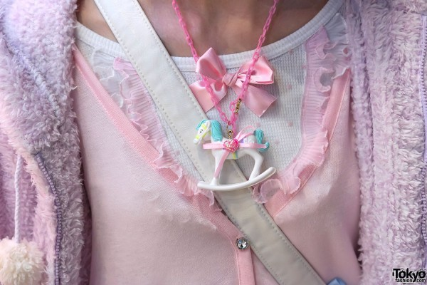 Rocking Horse Fairy Kei Necklace