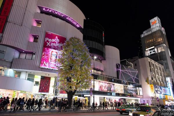 Harajuku Takeshita Dori Christmas 2012 (36)