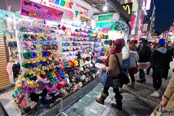 Harajuku Takeshita Dori Christmas 2012 (6)
