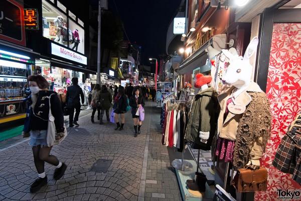 Harajuku Takeshita Dori Christmas 2012 (9)