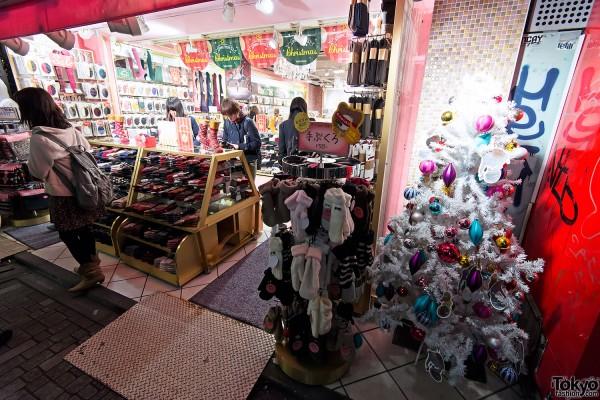Harajuku Takeshita Dori Christmas 2012 (12)