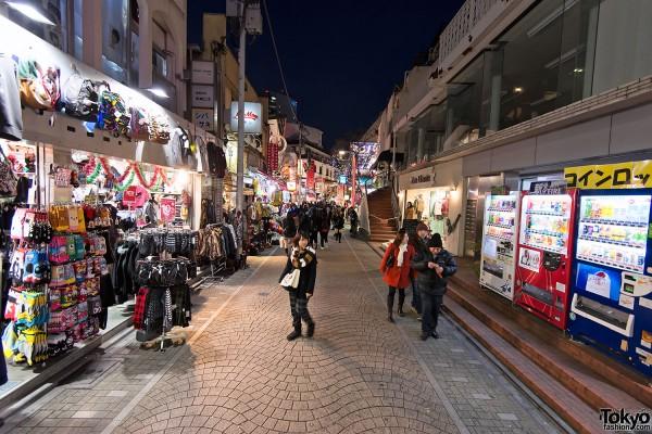 Harajuku Takeshita Dori Christmas 2012 (13)