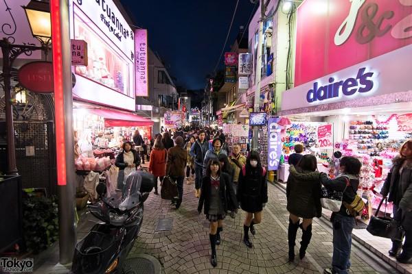 Harajuku Takeshita Dori Christmas 2012 (14)
