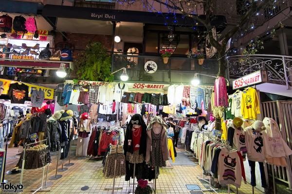 Harajuku Takeshita Dori Christmas 2012 (17)