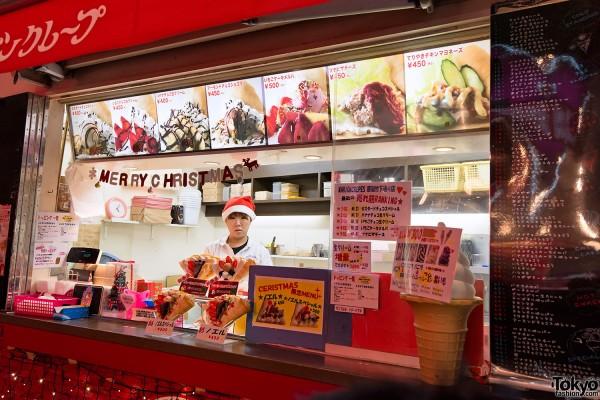 Harajuku Takeshita Dori Christmas 2012 (19)