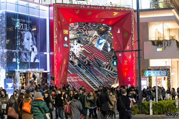 Harajuku Takeshita Dori Christmas 2012 (37)