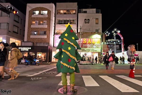 Harajuku Takeshita Dori Christmas 2012 (42)