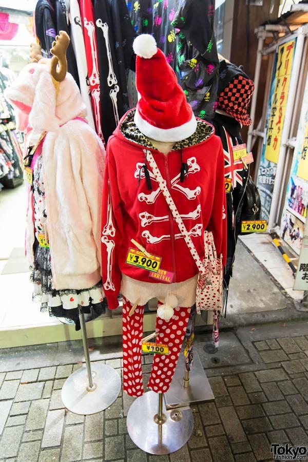 Harajuku Takeshita Dori Christmas 2012 (63)