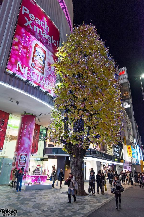 Harajuku Takeshita Dori Christmas 2012 (71)