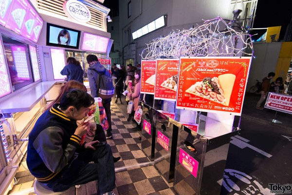 Harajuku Takeshita Dori Christmas 2012 (75)