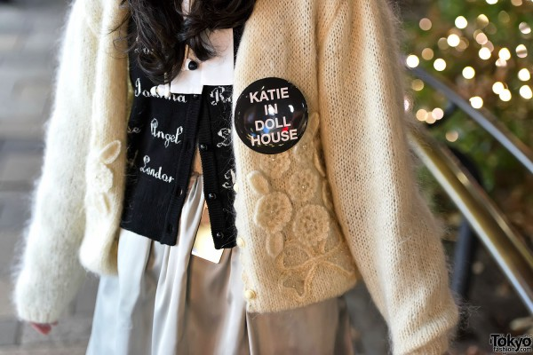 Katie in Doll House Pin