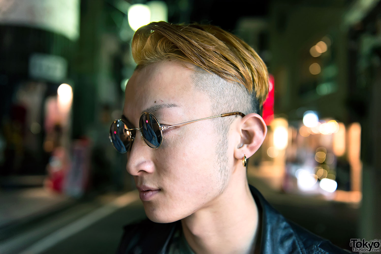 Lilac Braids Leather Jacket Acid Wash Amp Tokyo Bopper In
