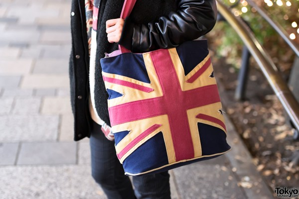 Union Jack Purse in Harajuku