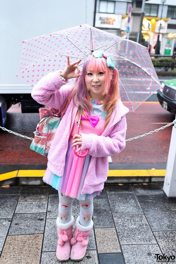 Suiya from DecoLa Hopping w/ Fairy Kei Fashion in Harajuku