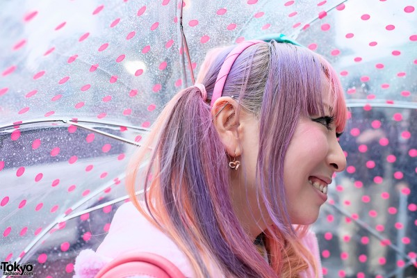 Pastel Hair in Harajuku