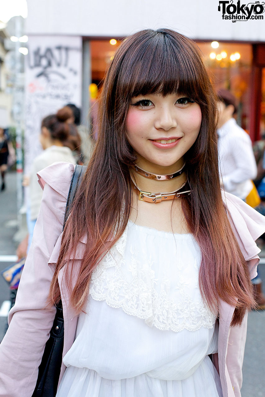 Tokyo Beauty School Students W Ombre Hair Amp Rocking Horse